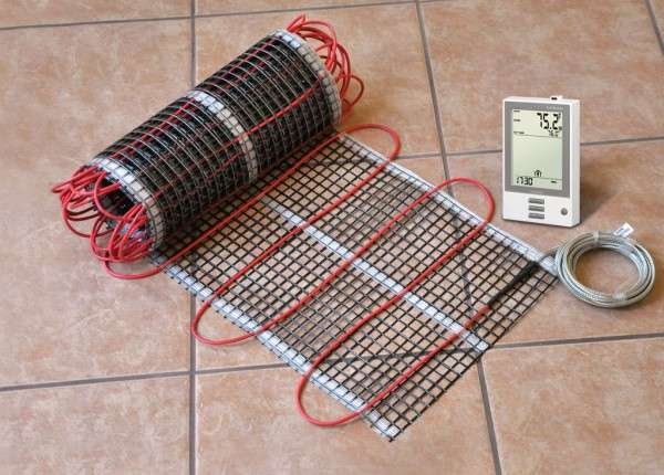 Элементы кабельного теплого пола