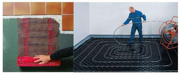 Водяной или электрический теплый пол: какой лучше?
