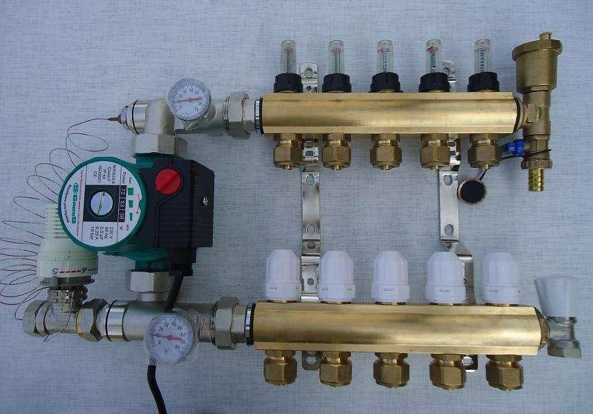 Какое оборудование и материалы необходимы для создания водяного теплого пола?