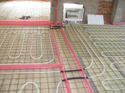 Использование сетки в системе водяного отопления