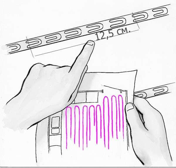 Иллюстрация c расчетами энергопотребления теплого пола