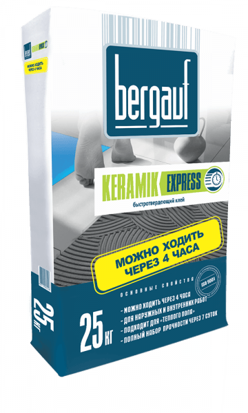 Клей марки Keramik Express