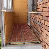 Уют и комфорт на балконе с теплыми полами