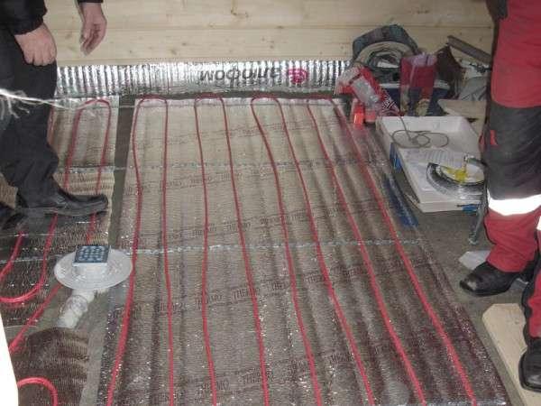 Электрический нагревательный кабель для пола
