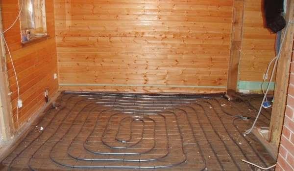 Сооружение водяной системы отопления в бане