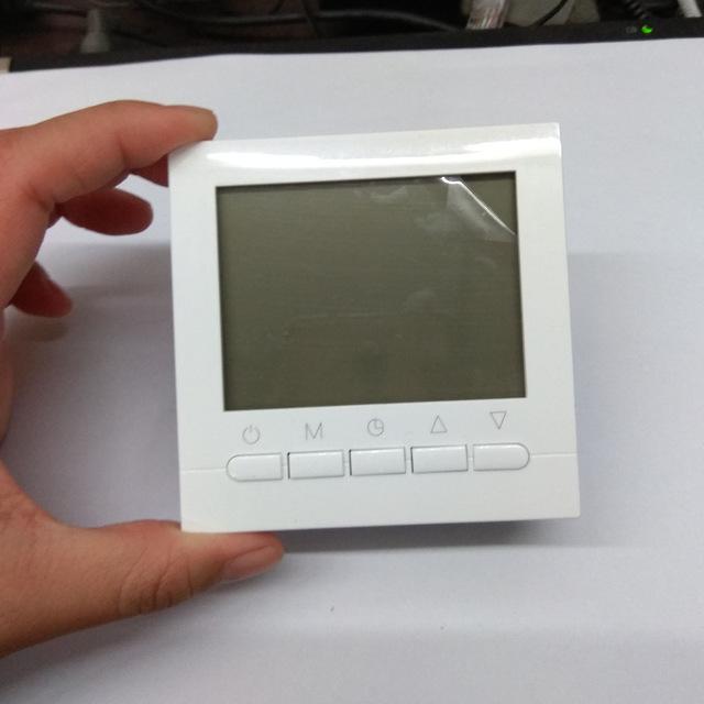 16A цифровой терморегулятор ручной тип для теплого Электрического Подогрева пола и инфракрасный настенный нагреватель управление термостат