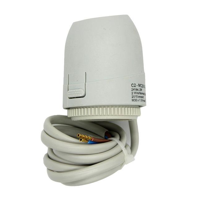 24 В 230 В без NC обычно открыть закрыть Электрический привод тепловых клапан для многообразия radiant номер теплые полы electrotermico