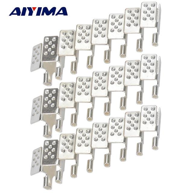 Aiyima 40 шт. Новый зажим разъем для углерода Отопление плёнки теплый пол