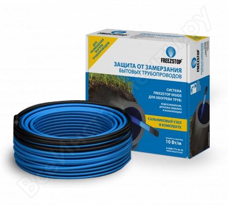 Греющий кабель саморегулирующийся для обогрева труб Теплолюкс Freezstop Inside-10-4