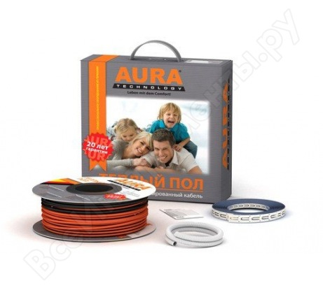 Комплект теплого пола Aura Heating КТА 136-2500