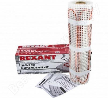 Нагревательный мат REXANT площадь 10,0 м2 (0,5 х 20,0 метров) 1600 Вт 51-0520